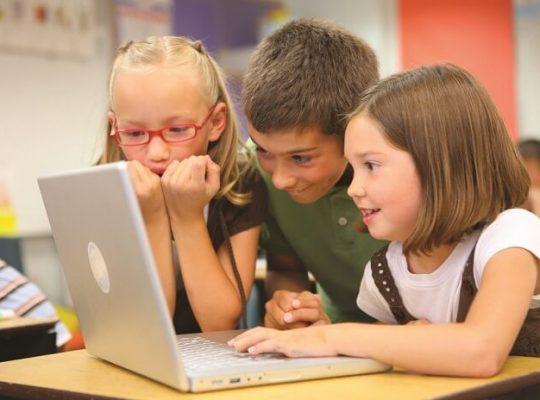 Children during Online Classes